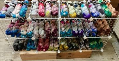 Neu im Regal: Luxus Sock Yarn