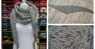 Bisschen windschief… ein neues Tuch!