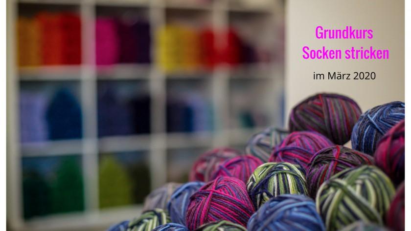 Im März lernt Ihr Socken stricken!