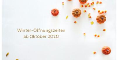 Erweiterte Öffnungszeiten ab Oktober